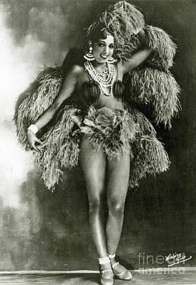 Josephine Baker In 1927 Art Print