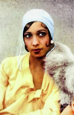 Jazz Royalty-Free and Rights-Managed Images - Josephine Baker, Legend by John Springfield