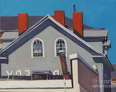 Southie Painting - Josephs by Deb Putnam