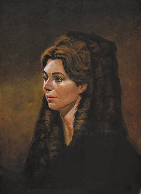 Portraits Painting - Josette by Harold Shull