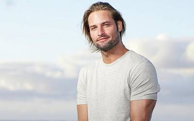 Portrait Digital Art - Josh Holloway by Maye Loeser