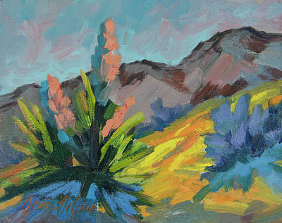 Painting - Joshua After The Rain by Diane McClary
