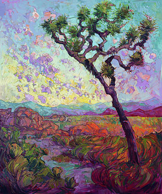 Painting - Joshua Blooms by Erin Hanson