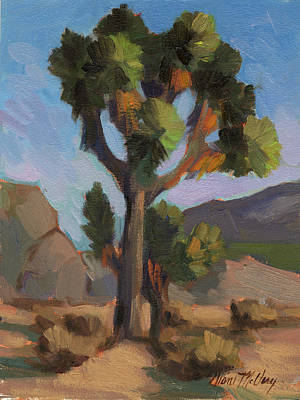 Painting - Joshua Tree 2 by Diane McClary