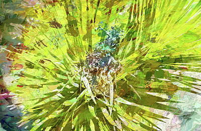 Digital Art - Joshua Tree Impasto by Aliceann Carlton