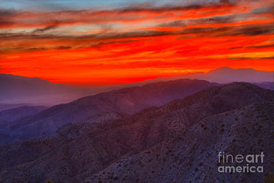Photograph - Joshua Tree Kes View Sunset by Adam Jewell