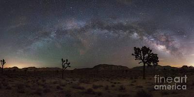 Michael Versprill Photograph - Joshua Tree Milky Way Panorama by Michael Ver Sprill