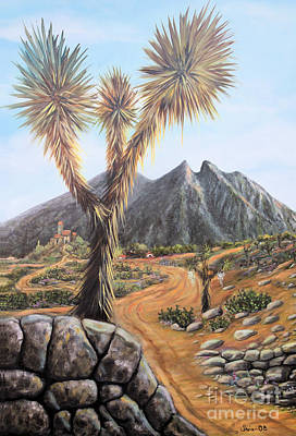 Painting - Joshua Tree by Sonia Flores Ruiz