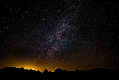 Photograph - Joshua Tree's Fiery Sky by T Brian Jones