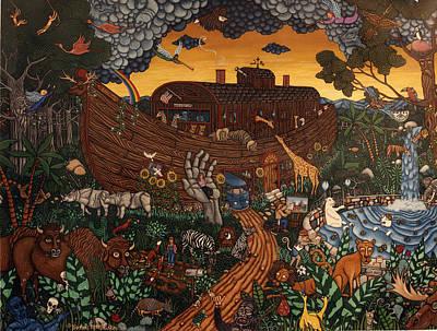 Dodo Bird Painting - Joshua's Ark  by Joshua Mac Allistar