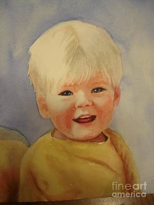 Joshua's Youngest Brother Art Print by Marilyn Jacobson