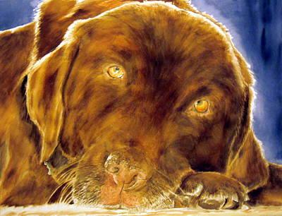 Josie Art Print by Susan Gauthier