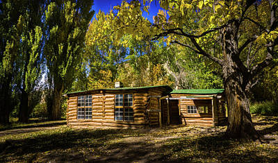 Photograph - Josie's Cabin by TL Mair