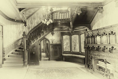 Photograph - Joslyn Castle Interior by Susan Rissi Tregoning