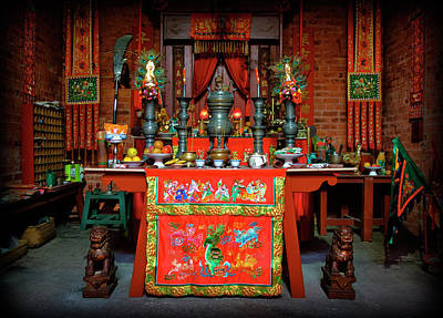 Photograph - Joss House by Wayne Sherriff