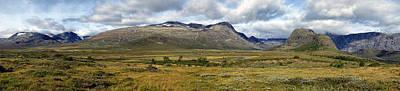 Photograph - Jotunheimen-Norwegian landscape by Mike Santis