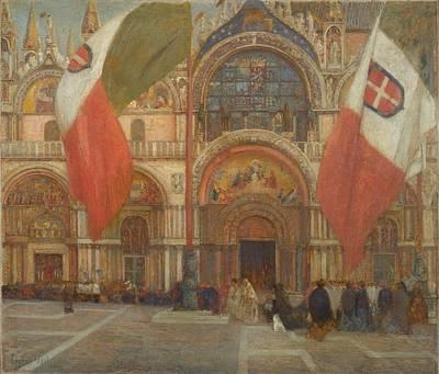 Kingdom Painting - Jour De Fete A Venise by MotionAge Designs