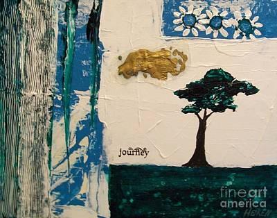 Journey Abstract Art Print by Marsha Heiken