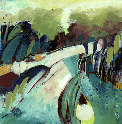Wall Art - Painting - Journey by Ann Thompson Nemcosky