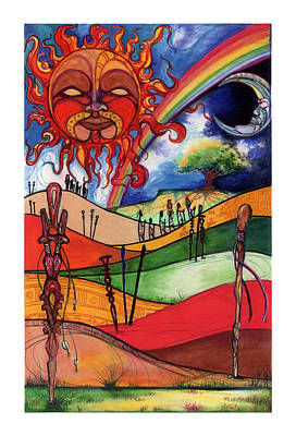 Journey Print by Anthony Burks Sr