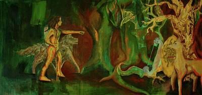 Painting - Journey by Cynthia Lizardi