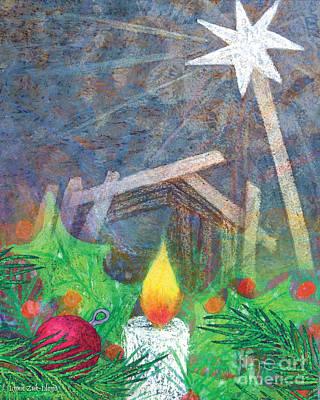 Wall Art - Mixed Media - Journey Into Christmas by Lynn Zuk-Lloyd