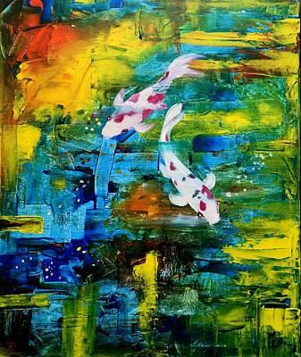 Painting - Journey by Jun Jamosmos