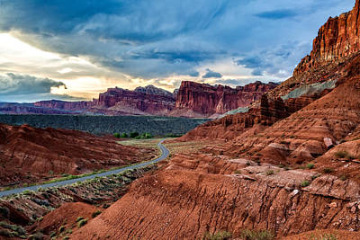 Journey Through Capitol Reef Art Print