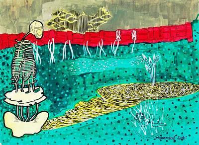 Virtual Mixed Media - Journey Through Life..colored Version by Makarand Joshi