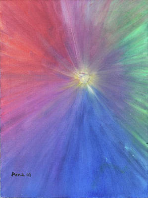 Painting - Journey to the light by Arna Vodenos