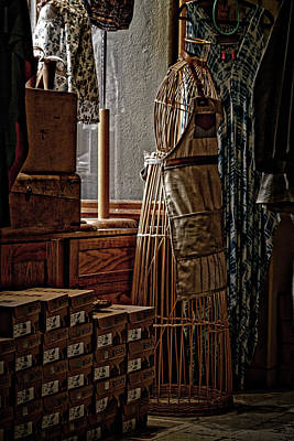 Needlewoman Photograph - Journey To The Past by Agustin Uzarraga