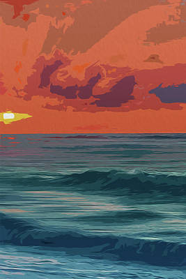 Painting - Journey To The Sea by Andrea Mazzocchetti