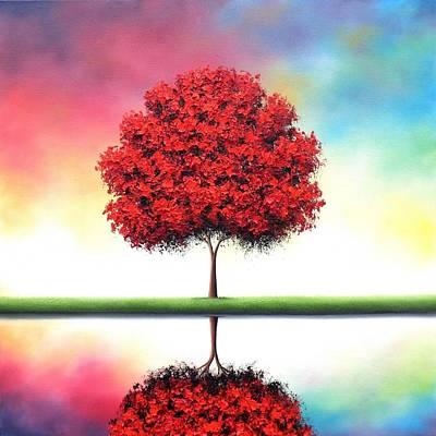 Abstract Realism Painting - Journey Toward Tomorrow by Rachel Bingaman