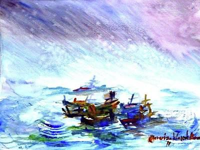 Painting - Journey by Wanvisa Klawklean