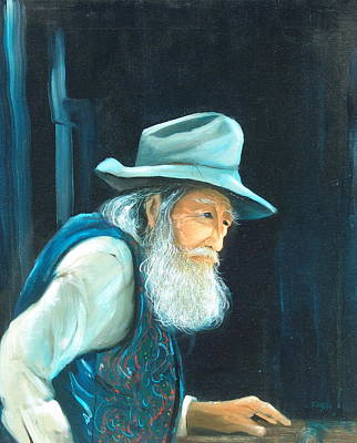 Portaits Painting - Journey's End by Sally Seago