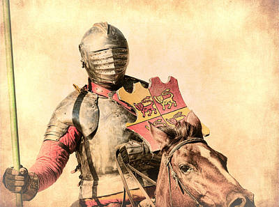 Photograph - Jousting Knight by Steve McKinzie