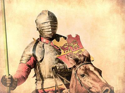 Photograph - Jousting Knight by Steve McKinzie