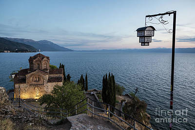 Photograph - Jovan Kaneo Church In Ohrid, Macedonia by Didier Marti