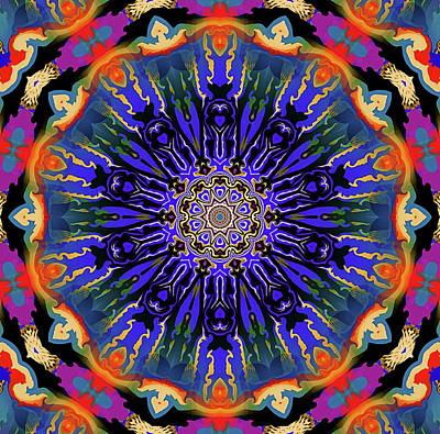 Mixed Media - Jovial Mandala by Natalie Holland