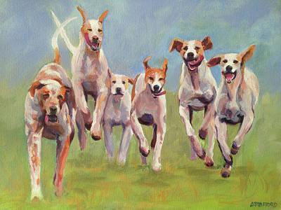 Wall Art - Painting - 'joy' by Alison Stafford