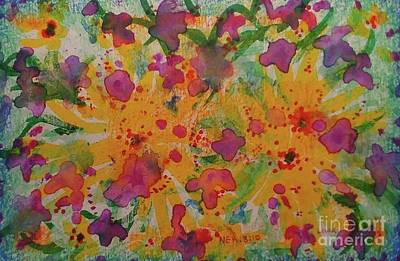 Wall Art - Painting - Joy And Strength by Debra Link
