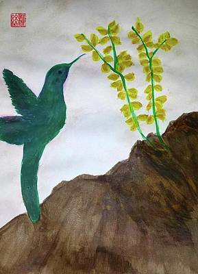 Painting - Joy At The Top Of A Mountain by Margaret Welsh Willowsilk