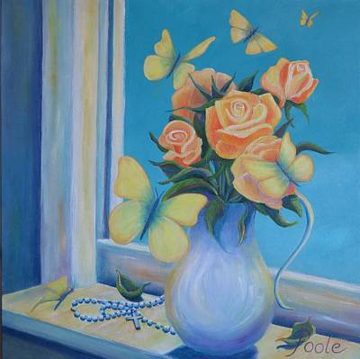 Painting - Joy Comes In The Morning by Pamela Poole