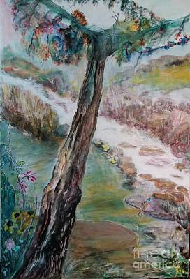 Painting - Joy In Jungle by Subrata Bose