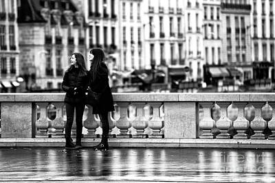 Photograph - Joy In Paris by John Rizzuto