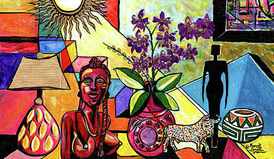 Mixed Media - Joy In Repetition by Everett Spruill