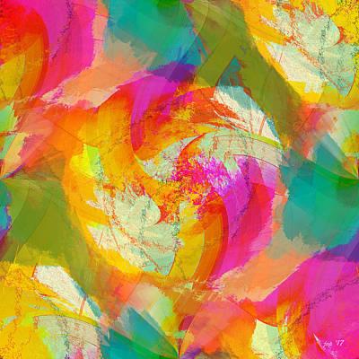 Digital Art - Joy by Jennspoint