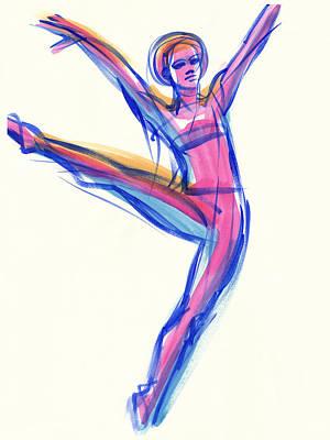 Joy Art Print by Judith Kunzle