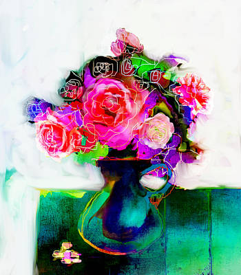 Art Print featuring the painting Joy by Linde Townsend