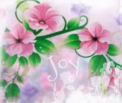 Digital Art - Joy by Maria Urso